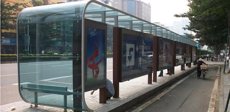 公交站宣传栏